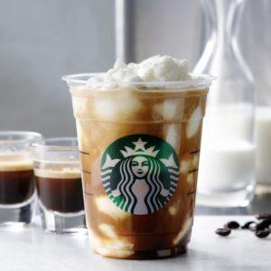 スタバのエスプレッソアフォガードフラペチーノの値段・カロリー・カフェインは?