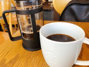 スターバックスコーヒー×プレスサービス×ウィローブレンド