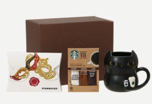 ハロウィン マグコーヒーキャット 355ml & パンプキンチョコレートクッキー & スターバックス ヴィア® アソートセット