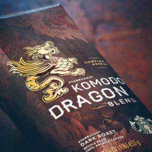スタバコーヒー豆×コモドドラゴン