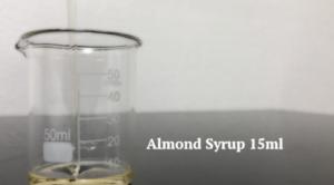 アーモンドシロップ15mlの計量