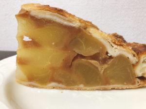 スタバ新作アップルパイのジューシーなリンゴ果肉