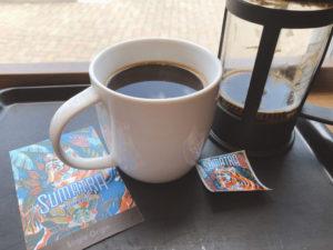 スマトラミディアムロースト×コーヒープレス