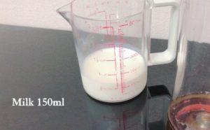 ミルク150ml
