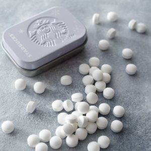 スタバのアフターコーヒーミント(ペパーミント)の価格・缶デザイン・味の感想