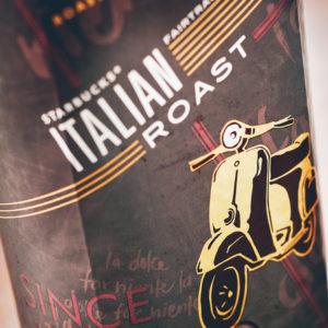 スタバのコーヒー豆イタリアンローストとは?