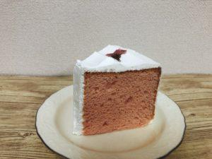 スタバさくらシフォンケーキ