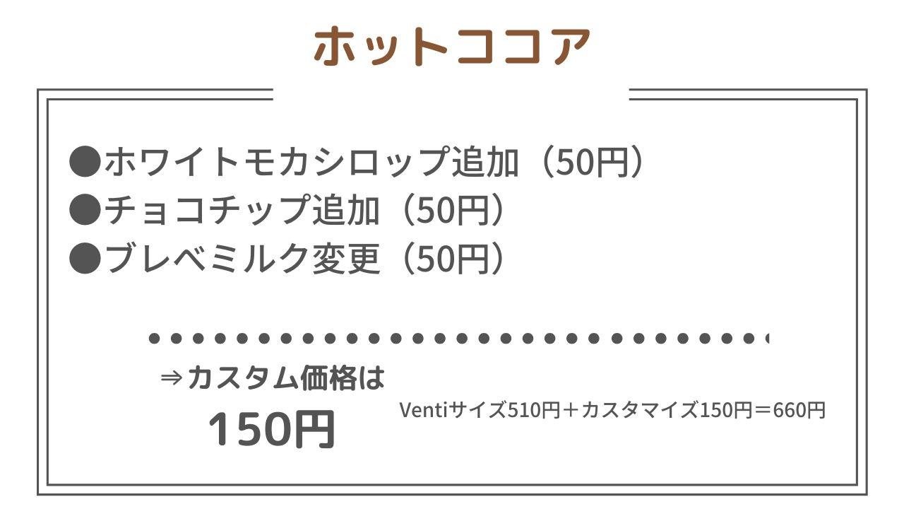 カスタマイズ 円 スタバ 700
