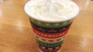【レビュー】スタバ新作ウィンターホワイトチョコレートの味の感想