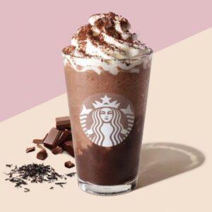 【期間限定】スタバ新作チョコレートティーケーキフラペチーノの値段・カロリーは?いつまで発売?