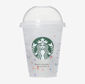 スタバ新作リユーザブルカップの値段やデザインは?無料でサイズアップできる?